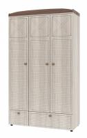 Шкаф для одежды трехдверный ИД 01.386