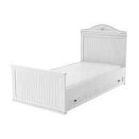 Николь Кровать 900 с настилом и подкроватным ящиком ИД01.530+ИД0