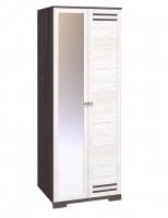 Гостиная Бриз Шкаф для одежды с одной зеркальной дверью 12