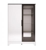 Гостиная Танго шкаф комбинированный двухдверный 16
