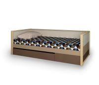 Кровать нижняя Робин Вуд с фальш-панелью
