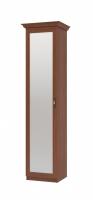 Шкаф для одежды и дверь с зеркалом Престиж ИД 01.381+ИД 01.381.0