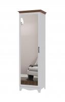 Шкаф для одежды с зеркалом Вентура ИД 01.139
