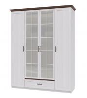 Шкаф для одежды 4-х дверный Вентура ИД 01.70
