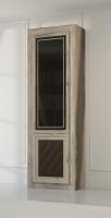 Шкаф-витрина для книг 2-х дверный 204 М Гостиная МК№51