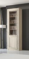 Шкаф-витрина для книг 2-х дверный 204 Гостиная МК№51
