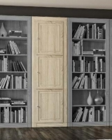 Шкаф для книг 3-х дверный 205 Гостиная МК№51