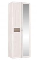 Шкаф для одежды 54 фасады зеркало+стандарт Спальня Карина