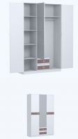 Шкаф для белья СМ11 Спальня Саманта