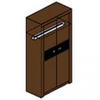 Шкаф для одежды М1с Спальня Модена