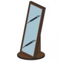 Зеркало напольное М17 Спальня Модена