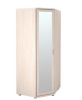 Шкаф угловой для одежды с зеркалом 30Р Ника-Люкс