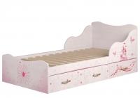 Кровать с ящиками 5 Детская Принцесса