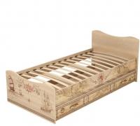 Кровать с ящиком 4 Детская Квест