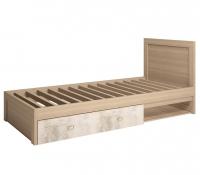Кровать одинарная на 900 мм 5 Детская Ультра