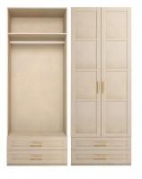 Шкаф для одежды 2-х дв без зеркала 1 Спальня Скандинавия-Люкс