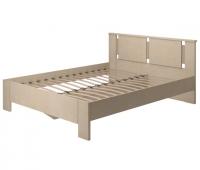 Кровать двойная на 160 2 Спальня Скандинавия-Люкс