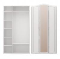 Шкаф для одежды 3-х дверный с зеркалом 9 Спальня Виктория