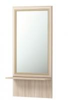 Зеркало настенное с полкой 21 Прихожая Брайтон
