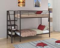 Двухъярусная кровать со ступенями Толедо