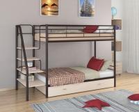 Кровать двухъярусная металлическая Толедо-Я