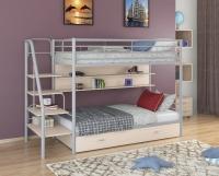 Двухъярусная металлическая кровать Толедо-ПЯ
