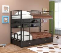 Двухъярусная металлическая кровать Севилья-2 ПЯ