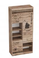 Шкаф с тремя дверями детский Фрегат