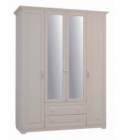 Шкаф четырехстворчатый Спальня Белла