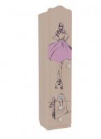 Шкаф комбинированный одностворчатый Детская Амели