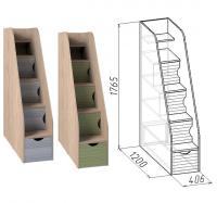 Тумба лестница Калейдоскоп