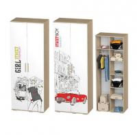 Шкаф двухдверный Сенди ШК-09