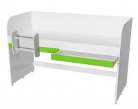 Кровать двухъярусная с лестницей Мамба КР-06
