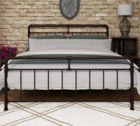 Кровать металлическая с ортопедическим основанием Авила