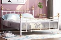 Кровать металлическая с ортопедическим основанием Эльда