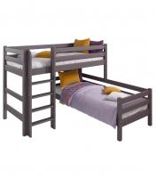 Угловая Кровать Соня Вариант 7 с прямой лестницей