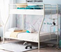 Кровать двухъярусная металлическая Гранада 3