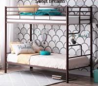 Кровать двухъярусная металлическая Севилья 4