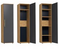 Шкаф для одежды и белья 8 Гостиная Crown