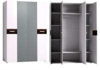 Шкаф для одежды и белья 555 Спальня Норвуд