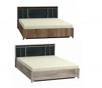 Кровать Люкс 1600 с подъемным механизмом 307 Спальня Nature