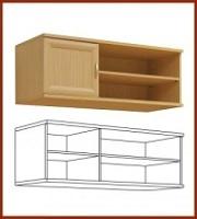 Лира 1256 Навесной шкаф